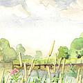 Napanee River West by John Herzog