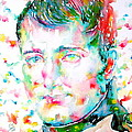 Napoleon Bonaparte - Watercolor Portrait by Fabrizio Cassetta