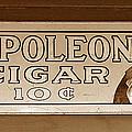 Napoleon Cigars by David Lee Thompson