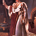 Napoleon In His Coronation Robes  by Mountain Dreams