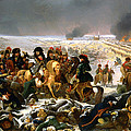 Napoleon On The Battlefield Of Eylau by Mountain Dreams