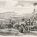 Napoleon's Army Crosses The  Neman by Mary Evans Picture Library