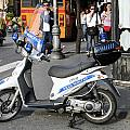 Napoli Police Scooter by Sonny Marcyan
