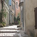 Narrow Lane - Arles by Christiane Schulze Art And Photography