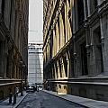 Narrow Manhattan Street by Zbigniew Krol