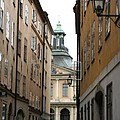 Narrow Road Stockholm by Christiane Schulze Art And Photography