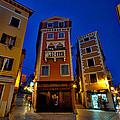 Narrow Streets And Buildings - Rovinj Croatia by Stuart Litoff
