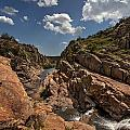 Narrows Canyon In The Wichita Mountains by Todd Aaron