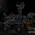 Nasa Vehicle System Vstb Rover On The Dark Side by R Muirhead Art