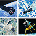 Nasa Manned Spacecraft Of The 1960's. by Douglas Castleman