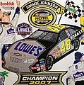 Nascar 2007 Champion by Rodney Sterling