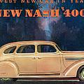 Nash 400 - Vintage Car Poster by World Art Prints And Designs