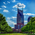 Nashville Batman Building Landscape by Dan Holland