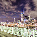 Nashville Cityscape  by John McGraw