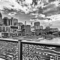 Nashville From The Shelby Bridge by Diana Powell