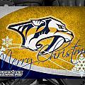 Nashville Predators Christmas by Joe Hamilton