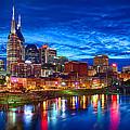 Nashville Skyline by Dan Holland