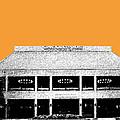 Nashville Skyline Grand Ole Opry - Orange by DB Artist