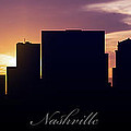 Nashville Sunset by Aged Pixel