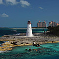 Nassau Harbour Lighthouse by Bill Swartwout Fine Art Photography