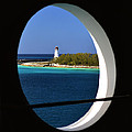 Nassau Lighthouse Porthole View by Bill Swartwout Photography