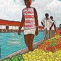 Nassau Woman by Frank Hunter
