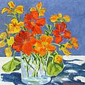 Nasturtiums by Rhett Regina Owings