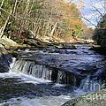 Natchaug River Falls by Neal Eslinger