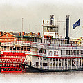 Natchez Sternwheeler Paint by Steve Harrington