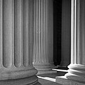 National Archives Columns by Inge Johnsson