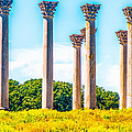 National Capitol Columns by John Jack