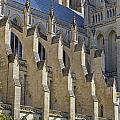 National Cathedral Exterior by David Lunde