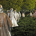 National Korean War Memorial  by Richard Bryce and Family