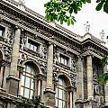 National Library In Vienna Austria by Aleksandar Mijatovic