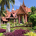 National Museum In Phnom Penh by Artur Bogacki