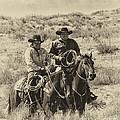 Native American Cowboys by Priscilla Burgers