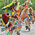 Native American Dancers - Nanticoke Powwow by Kim Bemis