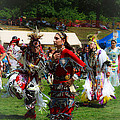 Native American Dancers by Eleanor Abramson