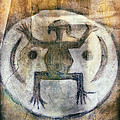 Native American Frog Pictograph by Jo Ann Tomaselli
