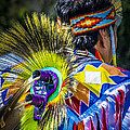 Native American Indian by Julie Palencia