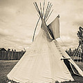 Native American Plains Indian Tipi Tepee Teepee by Edward Fielding