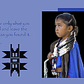 Native American Saying by Dave Mills