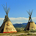 Native American Teepees  by Dora Sofia Caputo Photographic Design and Fine Art