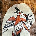 Native American Thunderbird Pictograph by Jo Ann Tomaselli