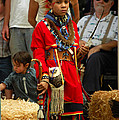 Native American Youth Dancer by Holly Blunkall