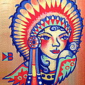 Native Girl by Britt Kuechenmeister
