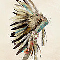 Native Headdress by Bri Buckley