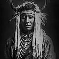Native Man Circa 1900 by Aged Pixel