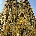 Nativity Facade - Sagrada Familia by Jon Berghoff