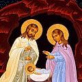 Nativity Night by Munir Alawi